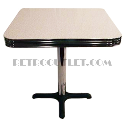 Ordinaire Retro Square Diner Table 30x30